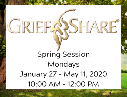 GriefShare Spring Session 2020