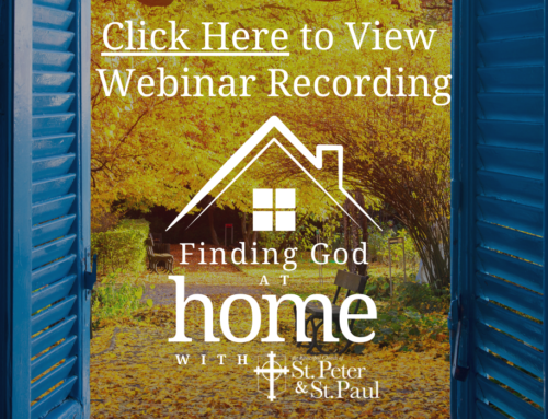 Finding God at Home